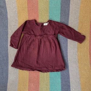Other - Organic cotton knit baby dress